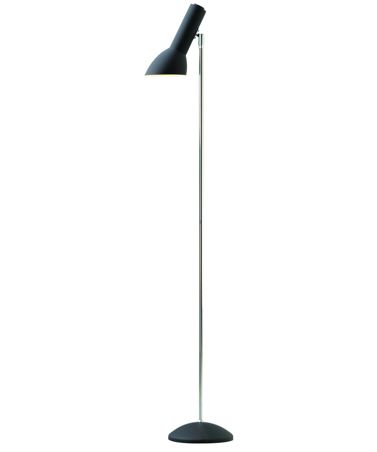 Oblique Gulvlampe Mat Sort - CPH Lighting