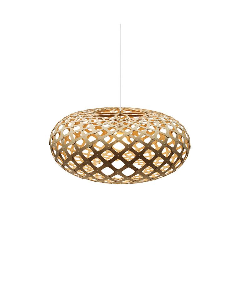 Kina Taklampe Bamboo Ø60 - David Trubridge
