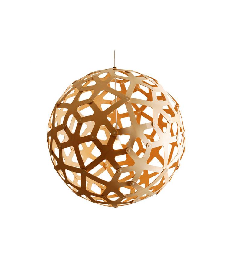 Coral Taklampe Bamboo Ø120 - David Trubridge