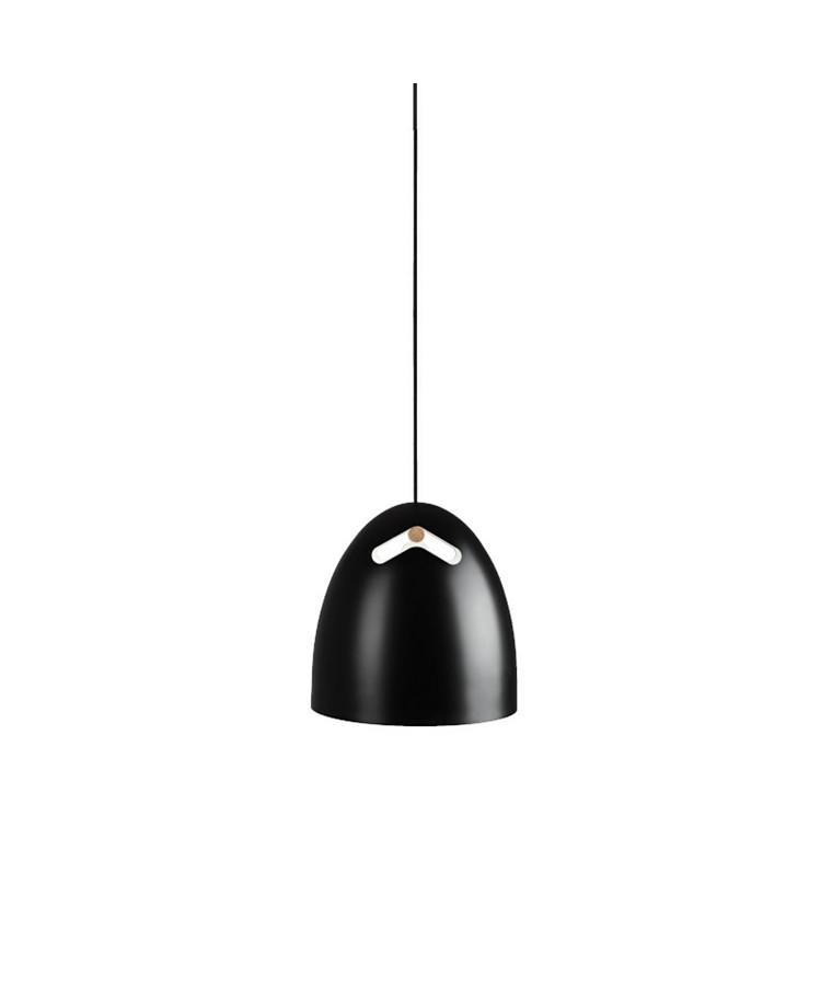 Bell+ 16 P1 Taklampa Ek/Svart - Darø