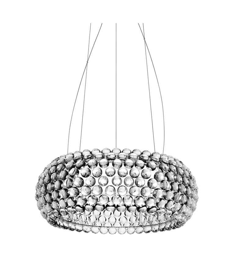 Caboche Medium LED Pendel Transparent - Foscarini