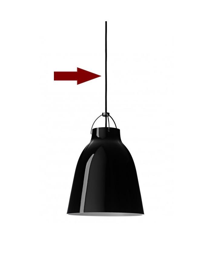 Ledning til Caravaggio 6m Sort - Fritz Hansen thumbnail