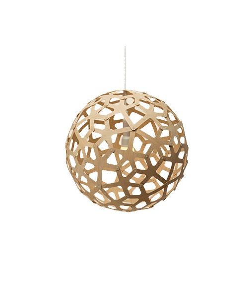 Coral Bamboo Pendel - David Trubridge
