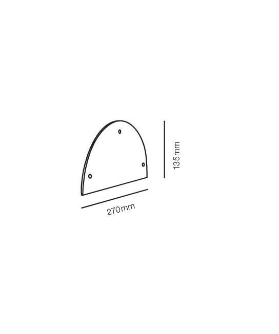 Rørhat Stander Cover Galvanisert - LIGHT-POINT
