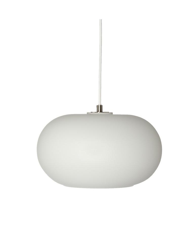 Kobe Glas Pendel Opal Hvid - Frandsen