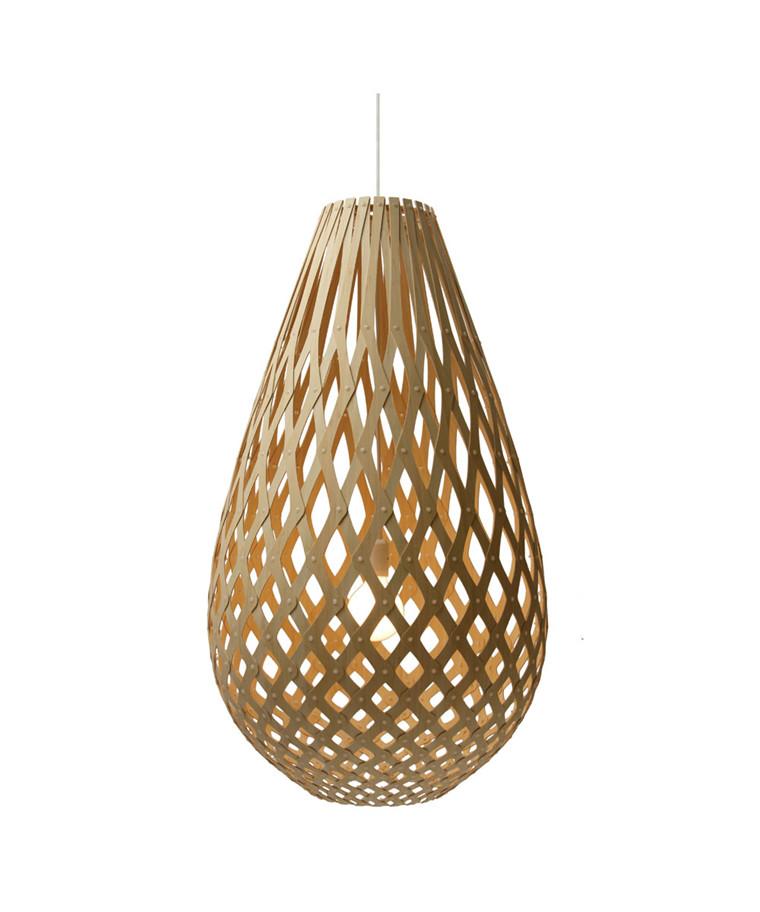 Grow Koura Bamboo Taklampa Ø50 - David Trubridge
