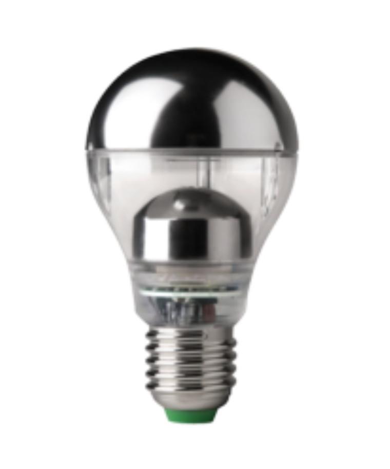 Producent MegamanKoncept Glødepære.  Hvis du har det lidt svært med det, med pærer, kommer der her en lille kort forklaring om de vigtigste ting, du skal være opmærksom på.  I dag bliver lysstyrken målt på lumen i stedet for watt. Du kan nogenlunde gå ud fra nedenstående.  15W = 140 lumen  25W = 250 lumen  40W = 470 lumen  60W = 800 lumen  75W = 1050 lumen  100W = 1520 lumen Derudover kan man også se på en pære, at der er oplyst en RA eller CRI værdi. Det er lysets evne til at gengive farver og det vurderes på en skala fra 0-100 RA.  100 RA giver den bedste farvegengivelse og det er det, man får fra dagslys.  Til et almindeligt hjem, skal man vælge pærer med en RA værdi på mere end 80.  Der vil også være oplyst en kelvingrad. Dette er lysets farve. En pære med en kelvingrad på 2.700 - 3.000 har et varmt lys.  4.000-4.5000 giver et neutral til køligt lys og er den mest optimale lysfarve at arbejde i.  Hvis man har brug for ekstra energi i de mørke måneder, skal man gå efter en kelvin gr