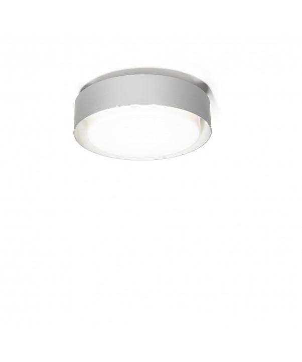 Plaff-On Væglampe/Loftlampe Ø33 Sølv - Marset