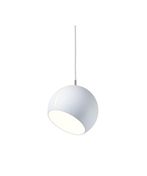 Tilt Globe Pendel Hvid/Hvid - Nyta