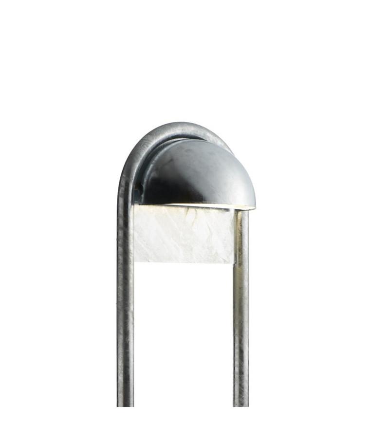 Rørhat Stander 700mm Galvaniseret - LIGHT-POINT
