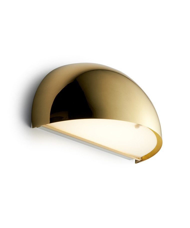 Rørhat Væglampe 10,5W LED Messing - LIGHT-POINT