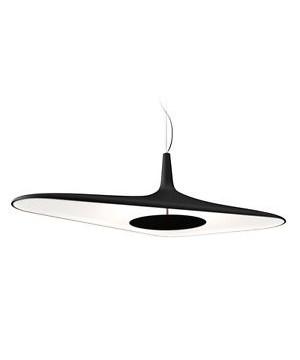 Soleil Noir Loftlampe 18,5 Sort - Luceplan
