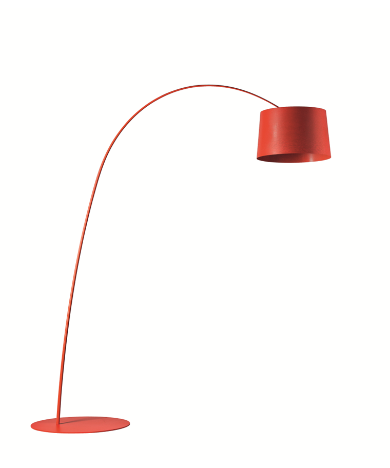 Twiggy Golvlampa Röd - Foscarini
