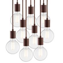 Vintage S9 Pendel Lampe - Pære C Mocca - LIGHT-POINT