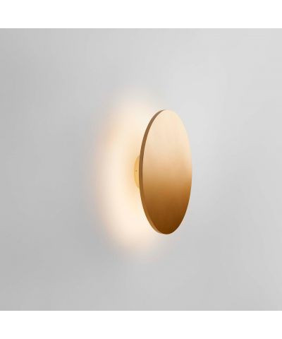 Soho W3 LED Væglampe Ø30 Guld - LIGHT-POINT