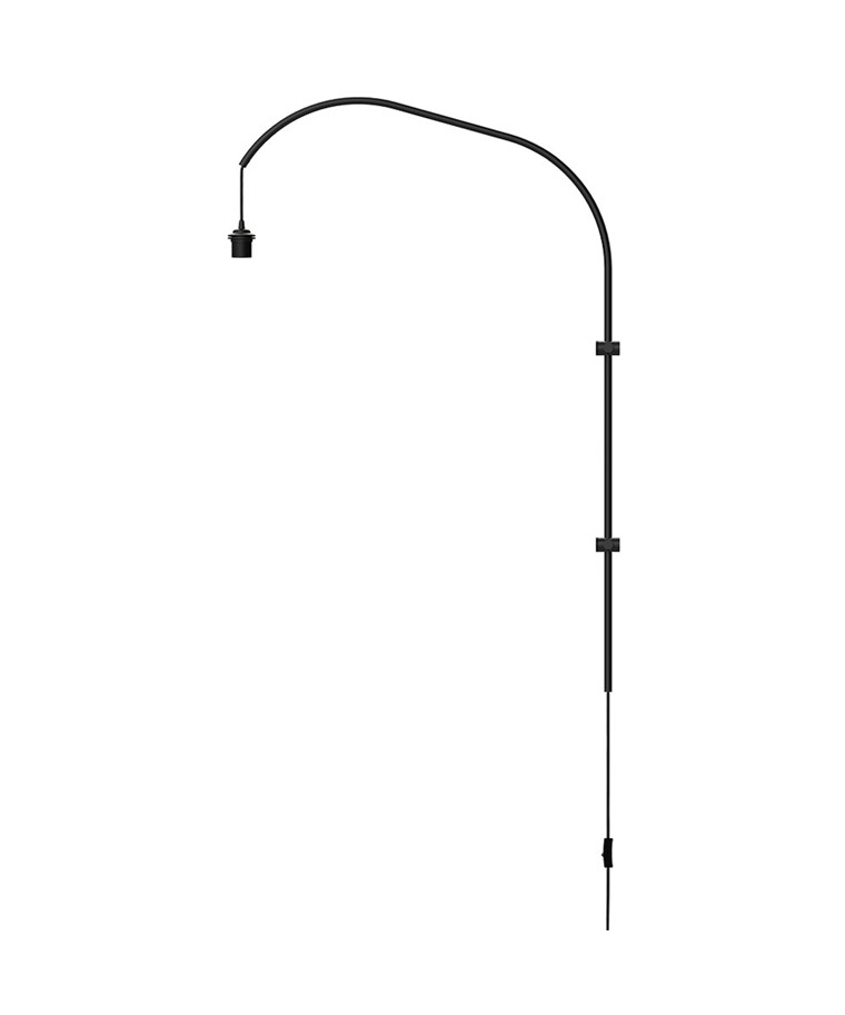 Willow Wall Single Wandstativ Schwarz - Vita