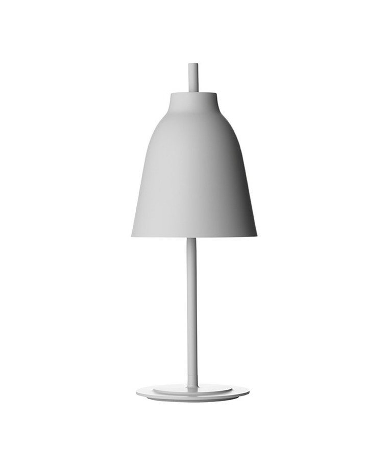 Caravaggio Bordlampe Plug In Matt Grå25 - Lightyears