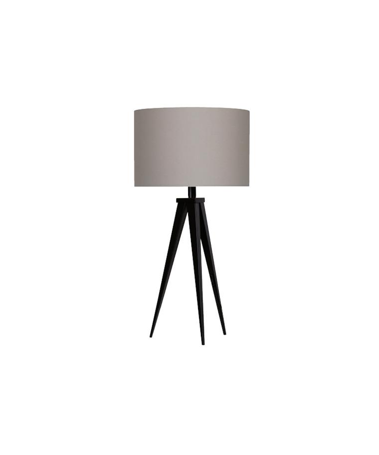 Paso Basic 35 T1 Bordlampe Sort/Grå - Darø