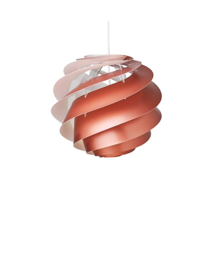 Swirl 3 Pendel Small Kobber - Le Klint