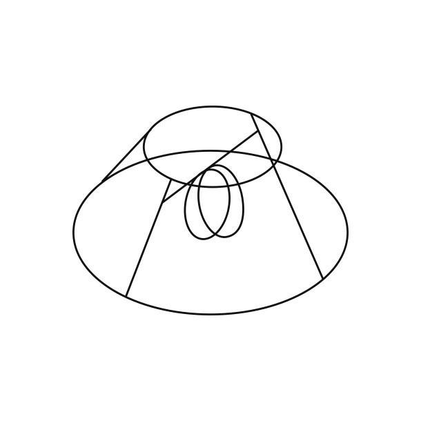 Le Klint Bordlampe Stativ til Sidelængde 14-23 - Le Klint