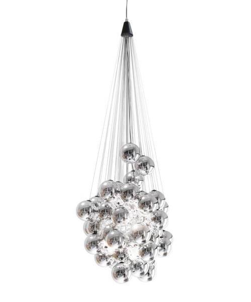 Stochastic 48 Pendel Opal Metal - Luceplan