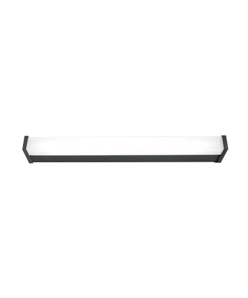 V.IP 44 Væglampe 1232 mm Antracit - Embacco