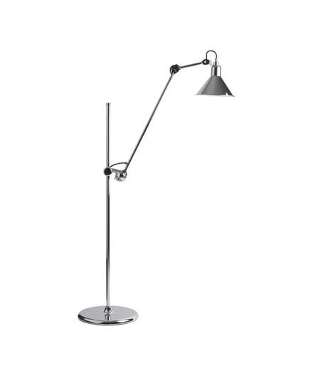 215 Golvlampe Krom - Lampe Gras