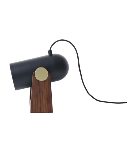 Carronade Bordlampe/Væglampe Sort - Le Klint