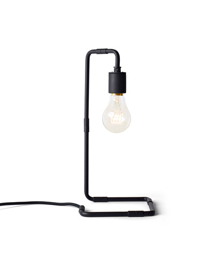 Reade Bordlampe Svart - Menu