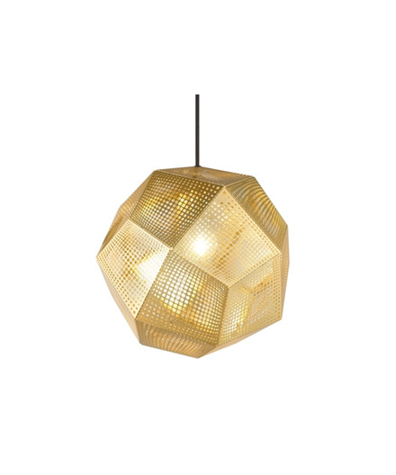 Etch Mässing Taklampa - Tom Dixon