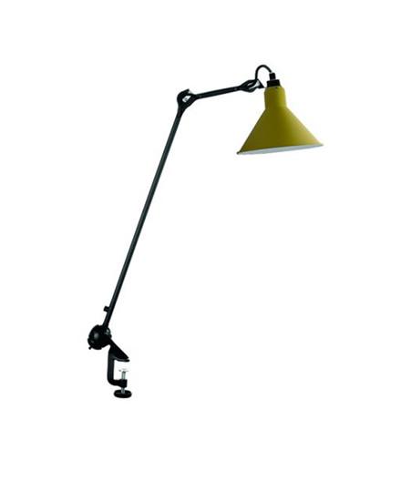 201 Bordlampe Sort/Gul - Lampe Gras