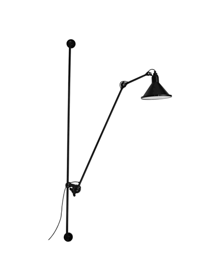 214 XL Wandleuchte Schwarz - Lampe Gras
