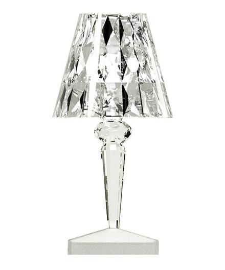 Battery Bordlampe Krystall - Kartell