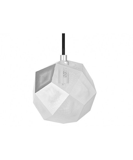 Etch Mini Taklampa Soft Silver - Tom Dixon