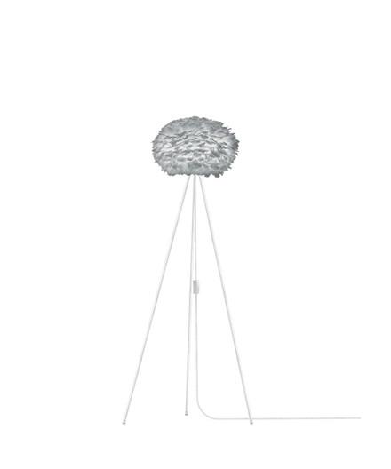Eos Gulvlampe Medium Grå/Hvid - Vita