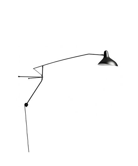Mantis BS2 Mini Væglampe Sort - Schottlander