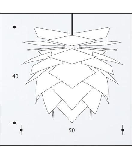 PineApple Medium Pendel Hvid - DybergLarsen