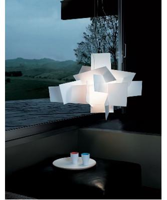 big bang pendel hvid foscarini. Black Bedroom Furniture Sets. Home Design Ideas