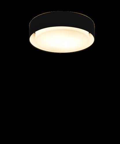 Billede af Plaff-On Væglampe/Loftlampe Ø20 Sort - Marset
