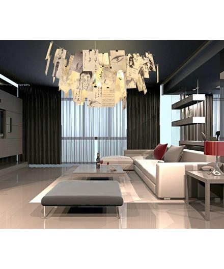 zettel 39 z lampe 6 taklampa ingo maurer. Black Bedroom Furniture Sets. Home Design Ideas