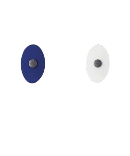 Image of   Bit 2/Orbital 2 Glasskærm Blå - Foscarini