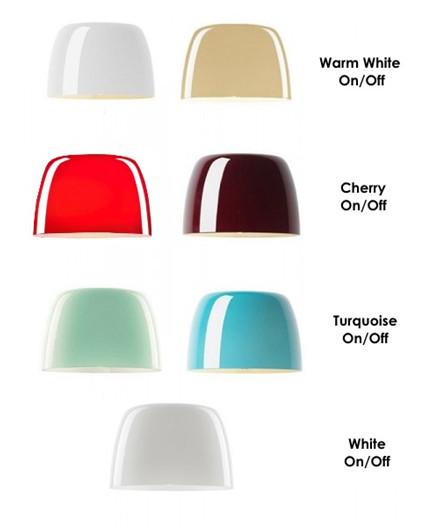 lumiere piccola glasshirm wei foscarini. Black Bedroom Furniture Sets. Home Design Ideas