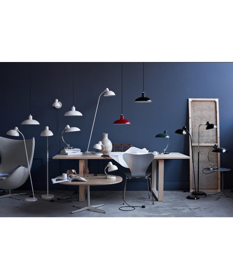 kaiser idell gulvlampe hvit 6556 f super fritz hansen. Black Bedroom Furniture Sets. Home Design Ideas