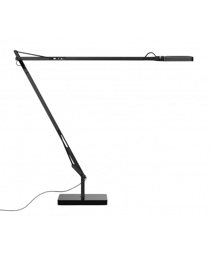 kelvin tischleuchte led anthrazit flos. Black Bedroom Furniture Sets. Home Design Ideas
