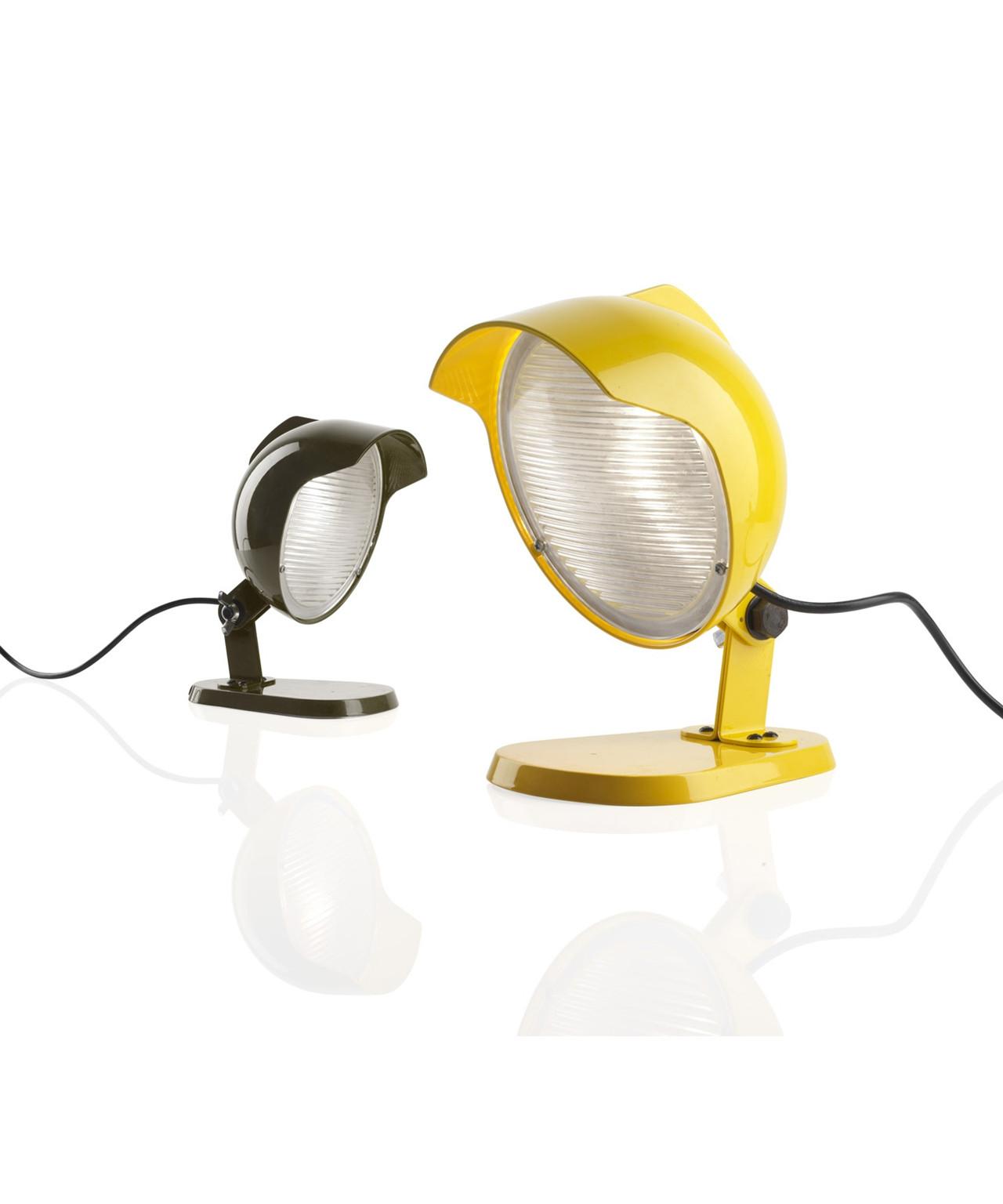 Duii mini væglampe/bordlampe grå