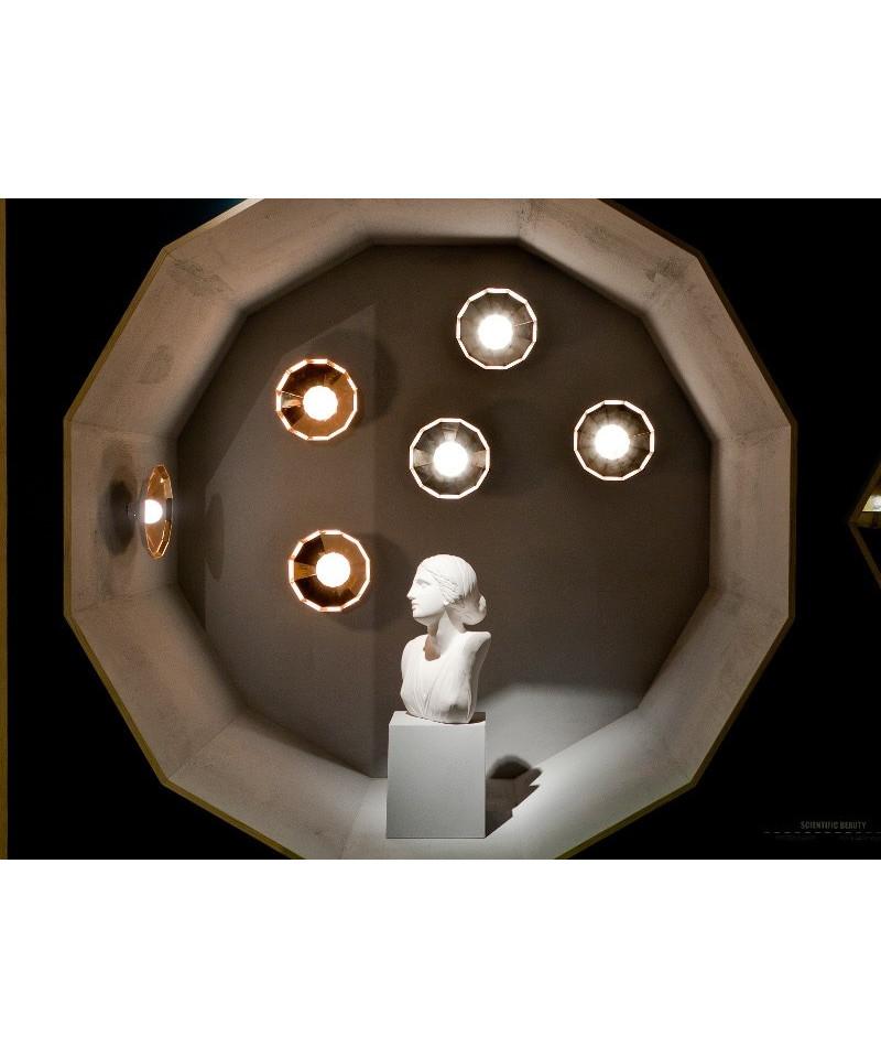 Mysterio væglampe/loftlampe sort