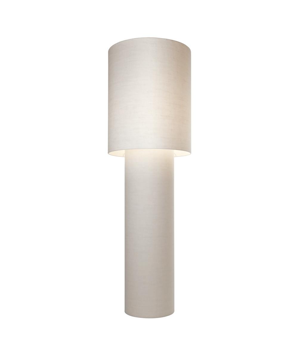 Pipe grande gulvlampe hvid