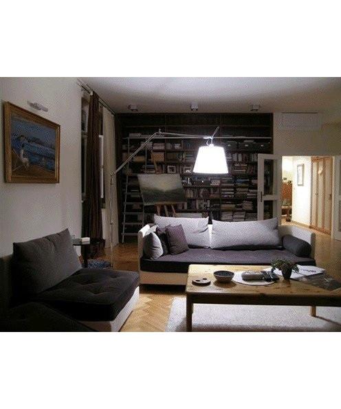 tolomeo mega gulvlampe pergament artemide. Black Bedroom Furniture Sets. Home Design Ideas