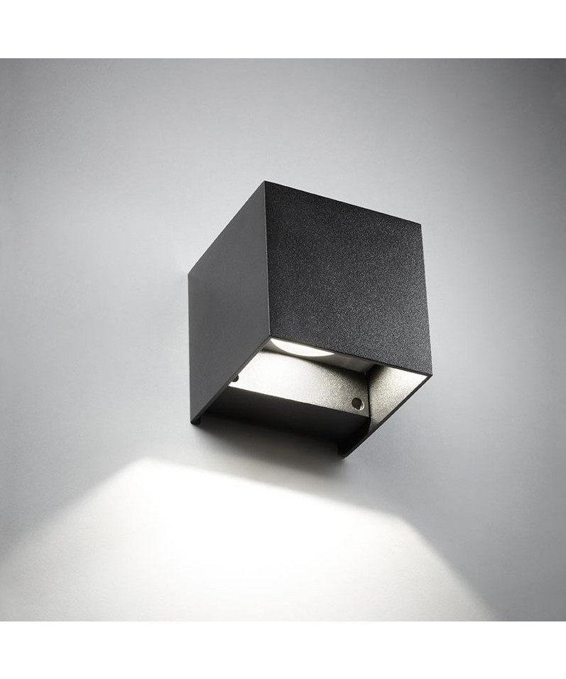 box mini down wandleuchte schwarz light point. Black Bedroom Furniture Sets. Home Design Ideas