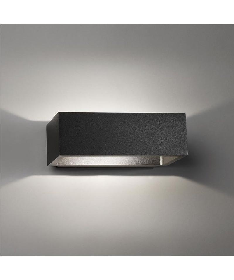 brick led wandleuchte schwarz light point. Black Bedroom Furniture Sets. Home Design Ideas